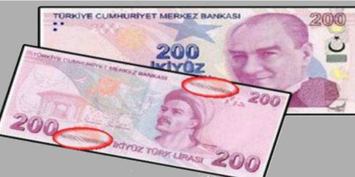 Paranın sahte olduğu nasıl anlaşılır